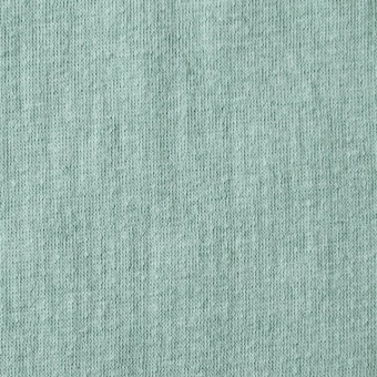コットン×無地(ミントグリーン)×Wニット_全5色(シリーズ3)