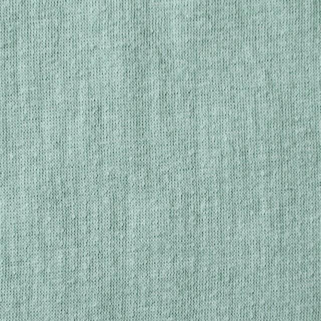 コットン×無地(ミントグリーン)×Wニット_全5色(シリーズ3) イメージ1