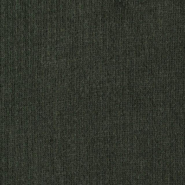 コットン×無地(モスグリーン)×Wニット_全5色(シリーズ3) イメージ1