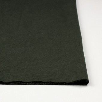 コットン×無地(モスグリーン)×Wニット_全5色(シリーズ3) サムネイル3
