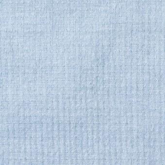 コットン×無地(サックス)×Wニット_全6色(シリーズ4)