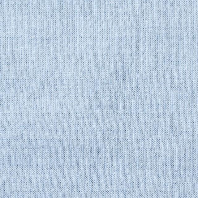 コットン×無地(サックス)×Wニット_全6色(シリーズ4) イメージ1