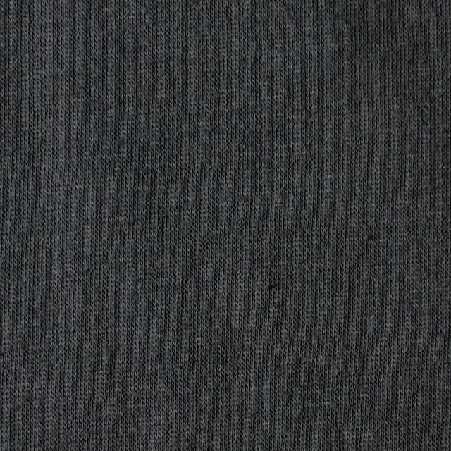 コットン×無地(スチールグレー)×Wニット_全6色(シリーズ4) イメージ1
