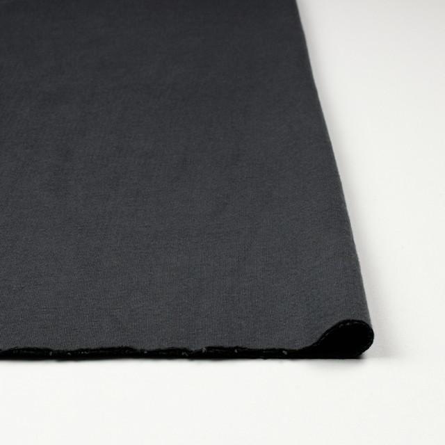コットン×無地(スチールグレー)×Wニット_全6色(シリーズ4) イメージ3