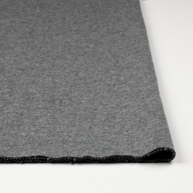 コットン×無地(杢グレー)×Wニット_全6色(シリーズ4) イメージ3