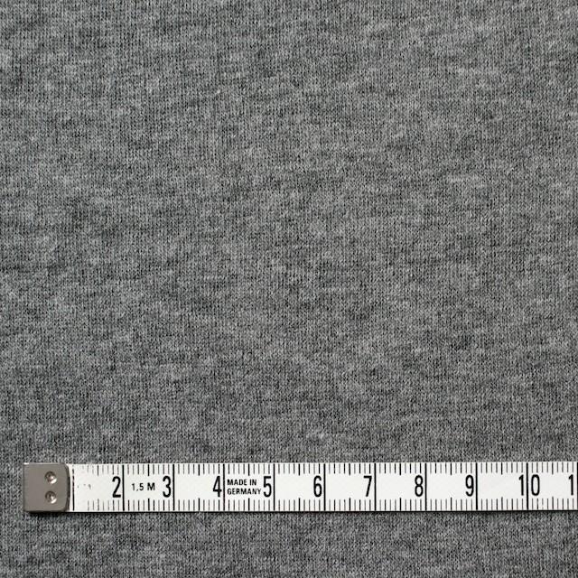 コットン×無地(杢グレー)×Wニット_全6色(シリーズ4) イメージ4