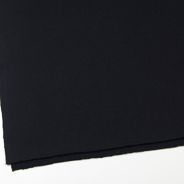 コットン×無地(ブラック)×Wニット_全6色(シリーズ4) イメージ2