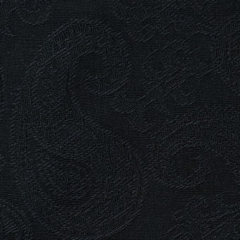 コットン×ペイズリー(ブラック)×ジャガード