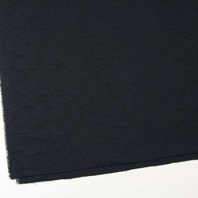 コットン×ペイズリー(ブラック)×ジャガード イメージ2
