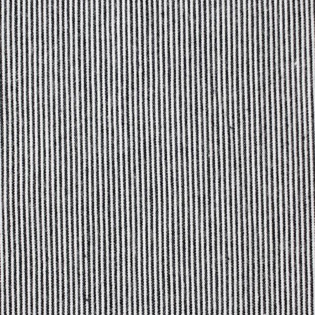 コットン×ストライプ(チャコールブラック)×コードレーン イメージ1