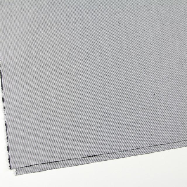 コットン×ストライプ(チャコールブラック)×コードレーン イメージ2