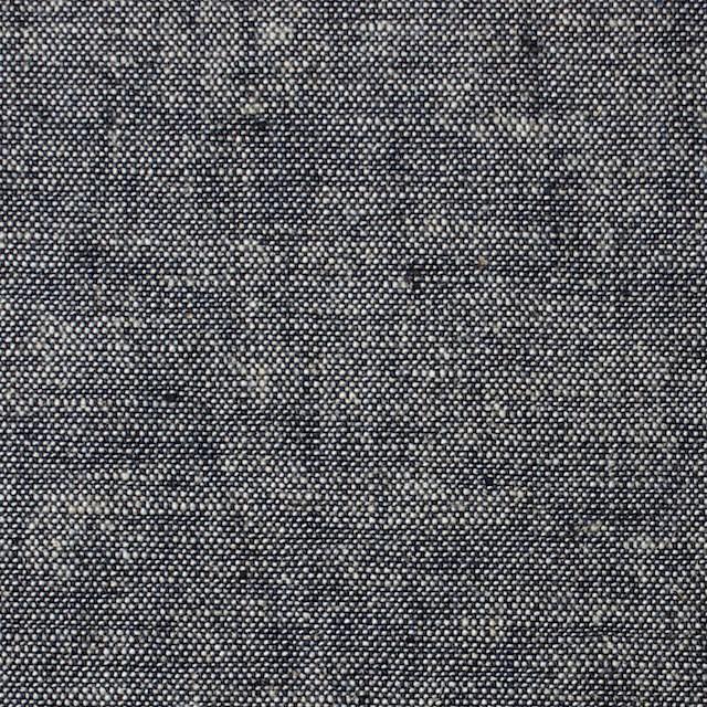 コットン&リネン×無地(ネイビー)×ソフトキャンバス イメージ1