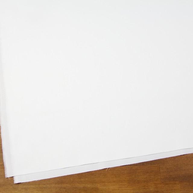 コットン×無地(オフホワイト)×薄サージ イメージ2