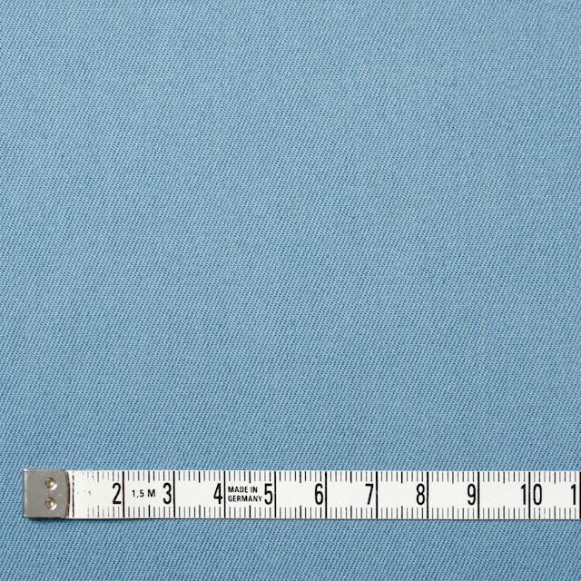コットン&ポリウレタン×無地(サックス)×チノクロス・ストレッチ イメージ4
