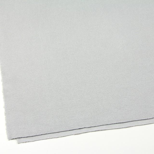 コットン×無地(ライトグレー)×Wニット イメージ2