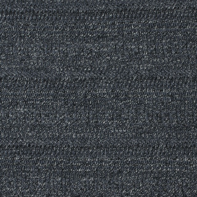 リヨセル&コットン×無地(チャコールグレー)×ジャガードニット イメージ1