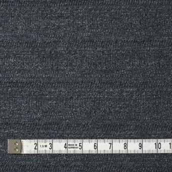 リヨセル&コットン×無地(チャコールグレー)×ジャガードニット サムネイル4