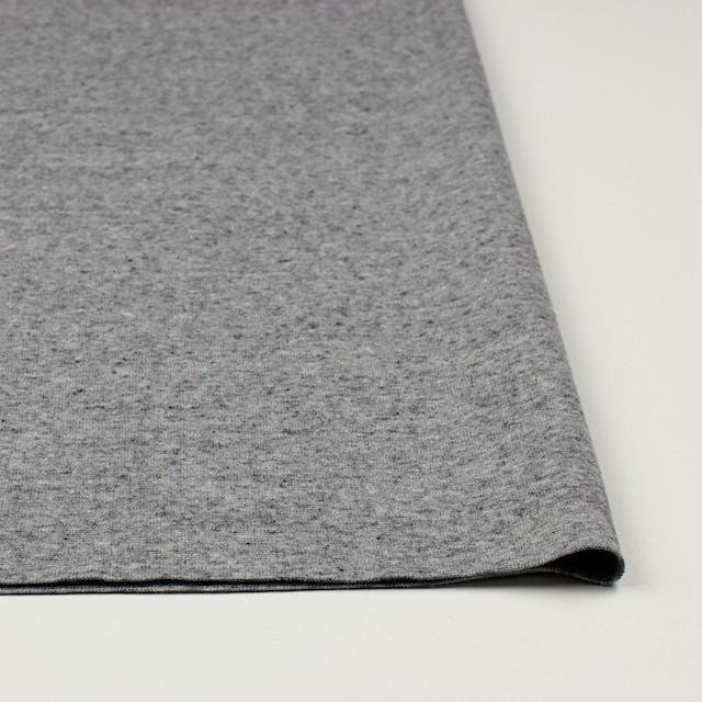 コットン×無地(杢グレー)×フライスニット イメージ3