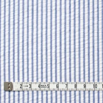 コットン×ストライプ(ブルー)×サッカー_全4色 サムネイル4