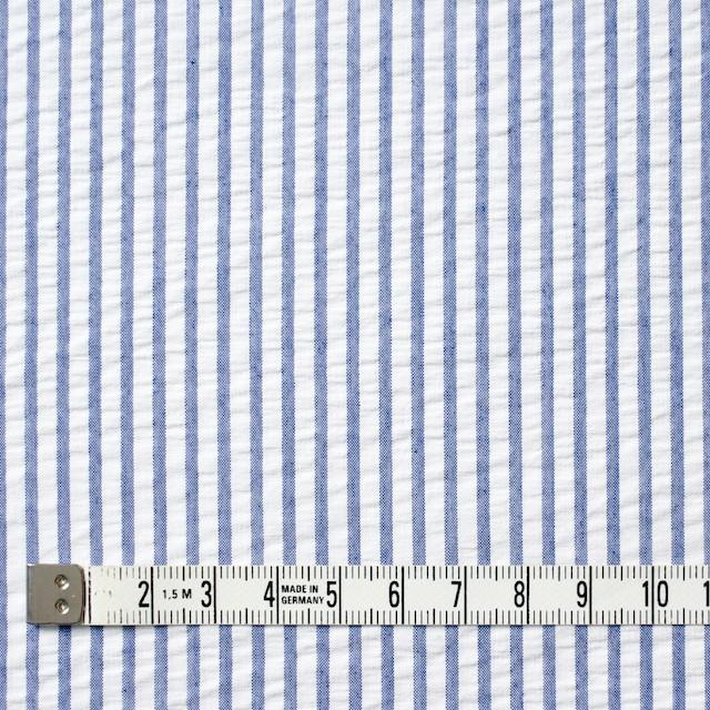 コットン×ストライプ(ブルー)×サッカー_全4色 イメージ4