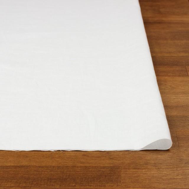 コットン&リネン×無地(オフホワイト)×薄サージワッシャー_全4色 イメージ3