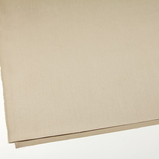 リネン&コットン混×無地(ベージュ)×サージストレッチ_全4色 イメージ2