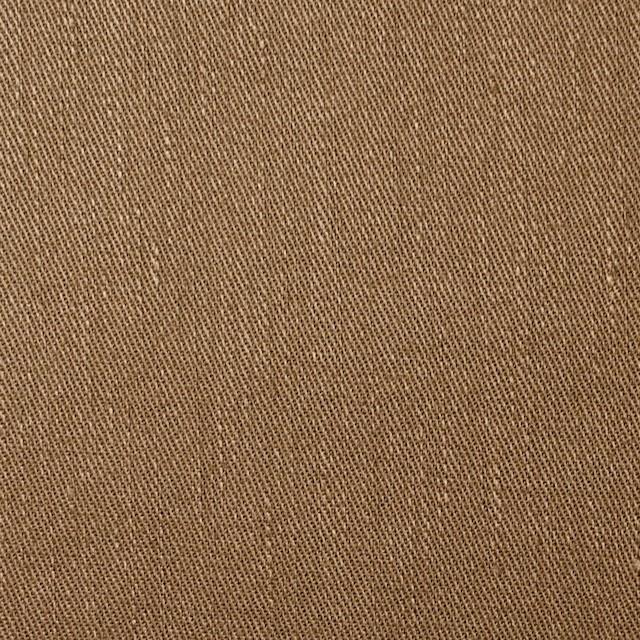 リネン&コットン混×無地(オークル)×サージストレッチ_全4色 イメージ1