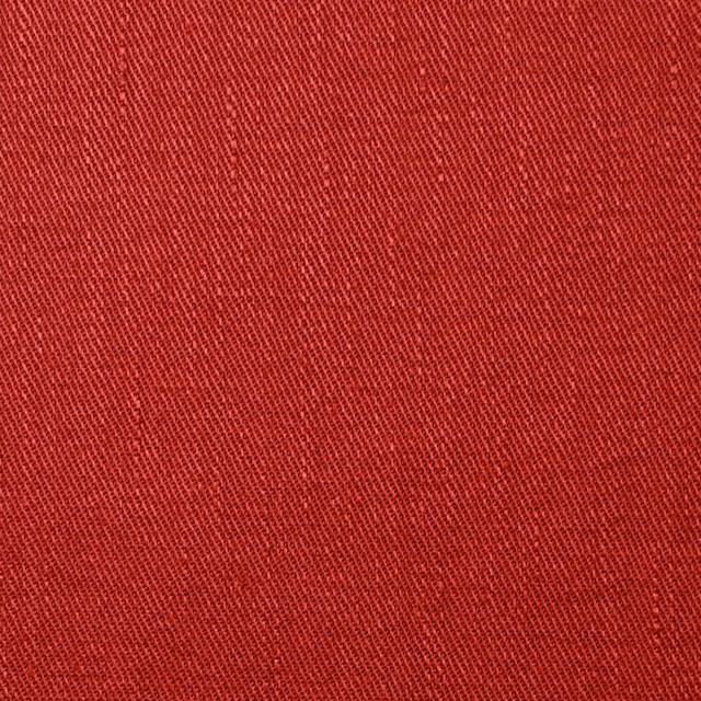 リネン&コットン混×無地(トマト)×サージストレッチ_全4色 イメージ1