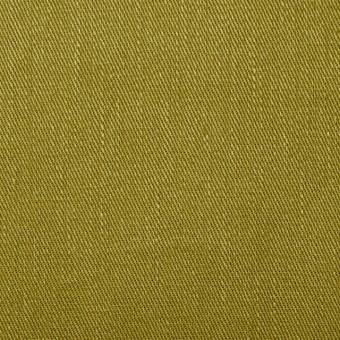 リネン&コットン混×無地(アボカド)×サージストレッチ_全4色 サムネイル1