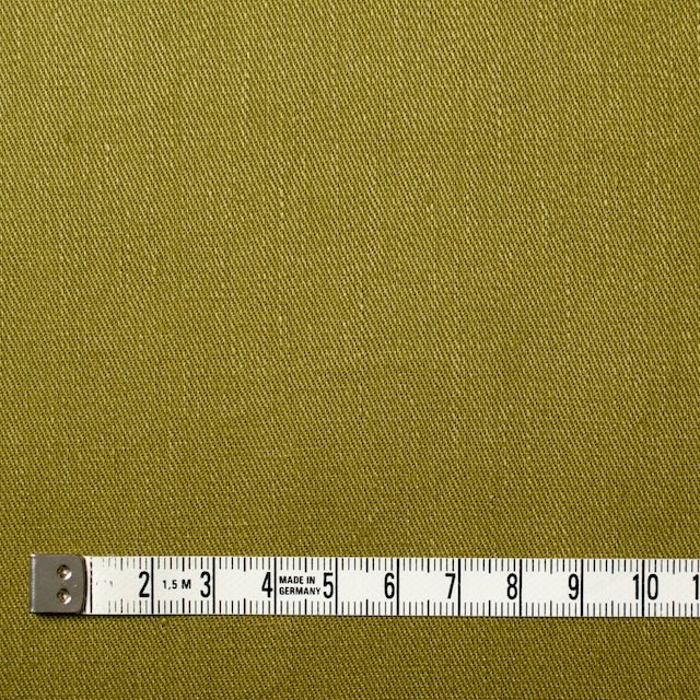 リネン&コットン混×無地(アボカド)×サージストレッチ_全4色 イメージ4