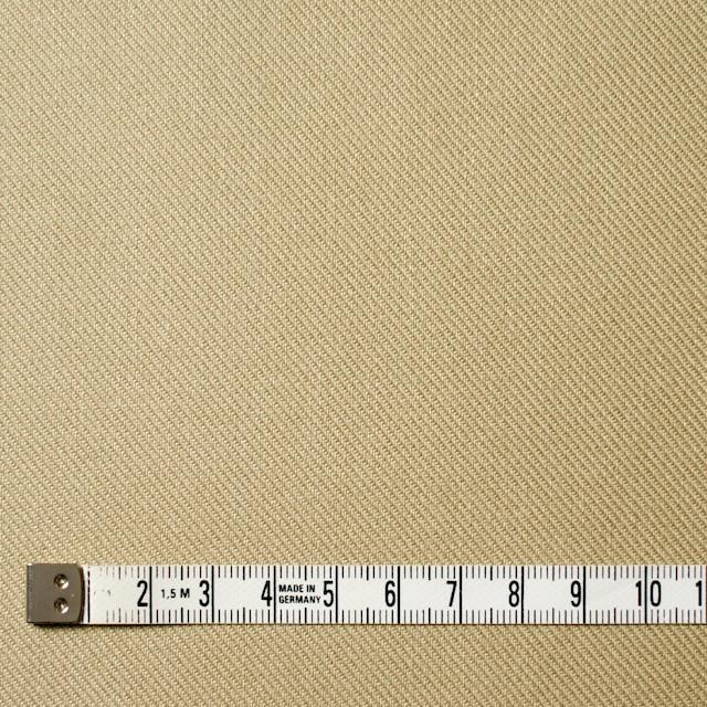 コットン×無地(ライトベージュ)×サージ_全4色 イメージ4