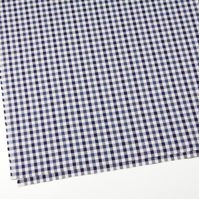 コットン×チェック(ブルーミックス)×サージ_全3色 イメージ2