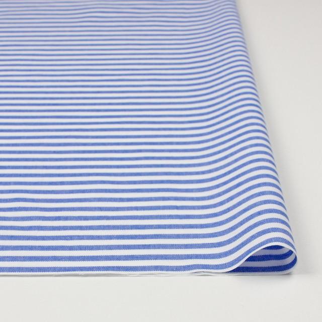 コットン×ボーダー(ブルー)×オックスフォード_全3色 イメージ3