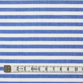 コットン×ボーダー(ブルー)×オックスフォード_全3色 サムネイル4