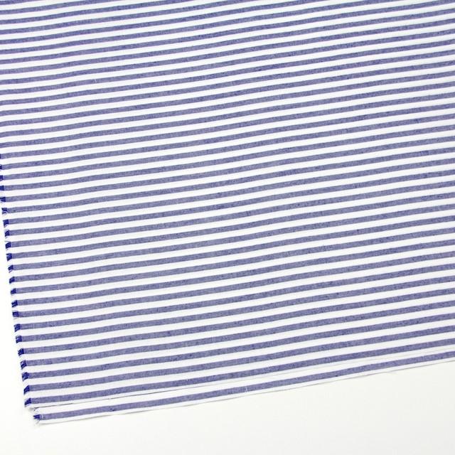 コットン×ボーダー(ネイビー)×オックスフォード_全3色 イメージ2