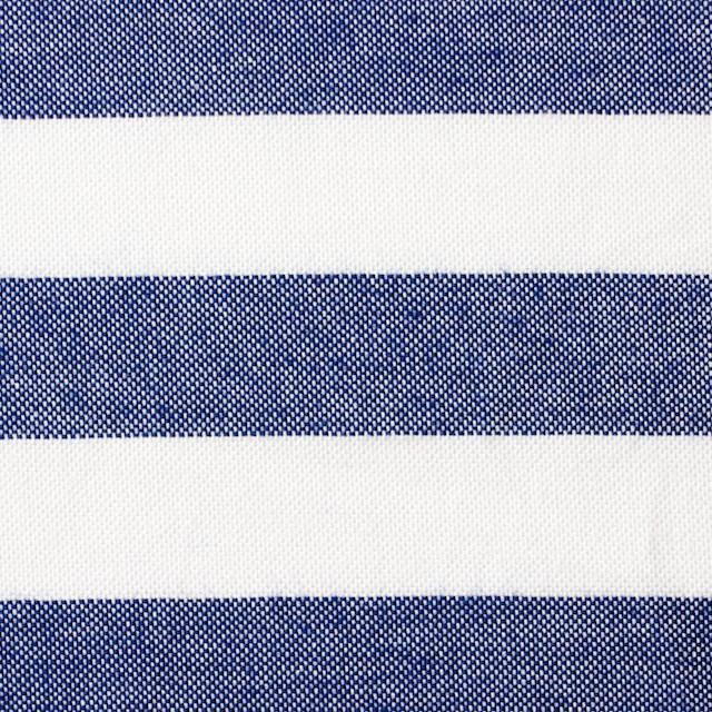 コットン×ボーダー(ネイビー)×オックスフォード_全3色 イメージ1