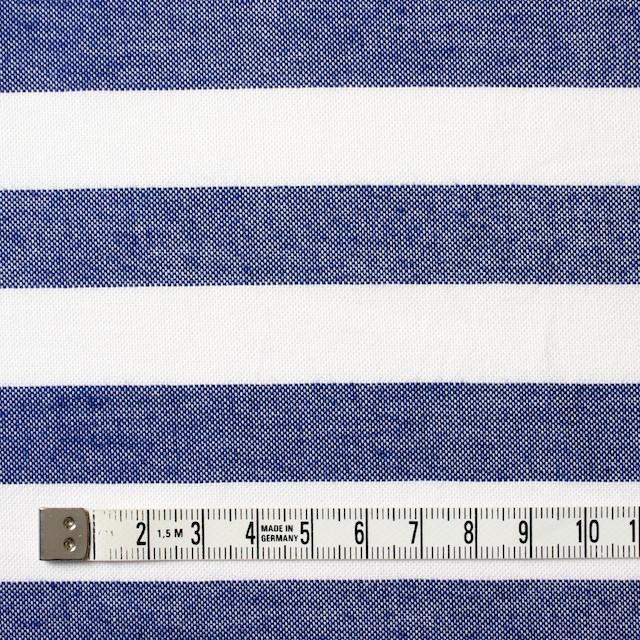 コットン×ボーダー(ネイビー)×オックスフォード_全3色 イメージ4
