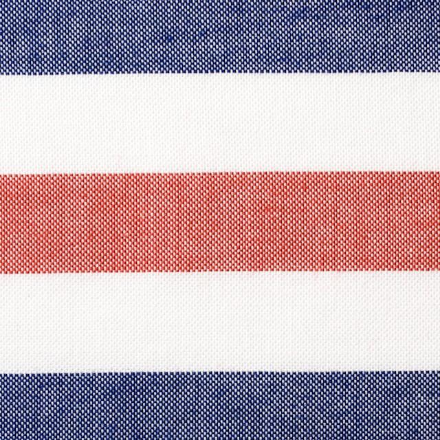 コットン×ボーダー(トリコロール)×オックスフォード_全3色 イメージ1