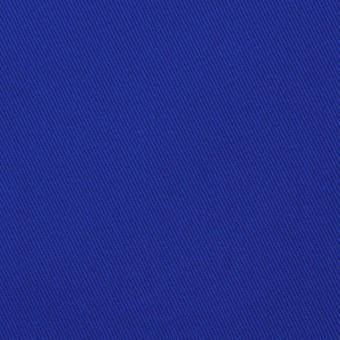 コットン&ポリウレタン×無地(ロイヤルブルー)×チノクロス・ストレッチ