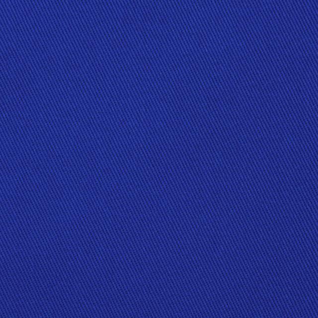 コットン&ポリウレタン×無地(ロイヤルブルー)×チノクロス・ストレッチ イメージ1