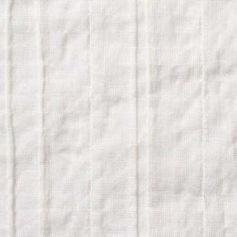 コットン&ポリウレタン×無地(オフホワイト)×ガーゼ・タテタック_全3色