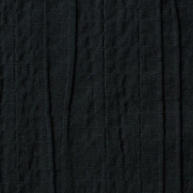 コットン&ポリウレタン×無地(ブラック)×ガーゼ・タテタック_全3色 イメージ1