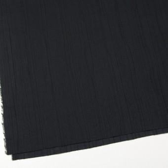 コットン&ポリウレタン×無地(ブラック)×ガーゼ・タテタック_全3色 サムネイル2