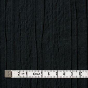 コットン&ポリウレタン×無地(ブラック)×ガーゼ・タテタック_全3色 サムネイル4