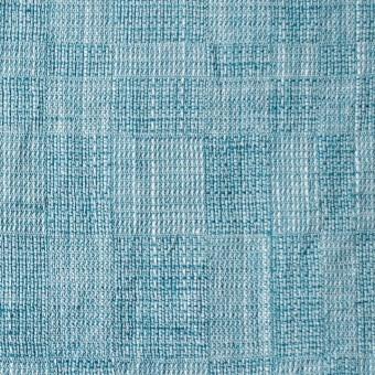 コットン&テンセル×無地(エメラルドブルー)×ガーゼ_全2色