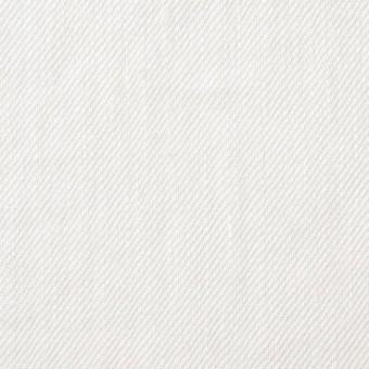リネン×無地(オフホワイト)×カツラギ サムネイル1