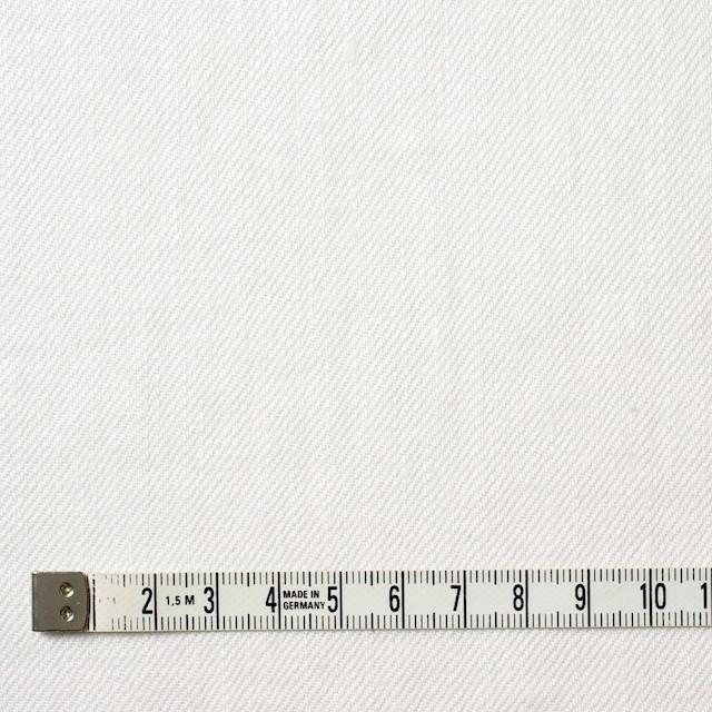 リネン×無地(オフホワイト)×カツラギ イメージ4