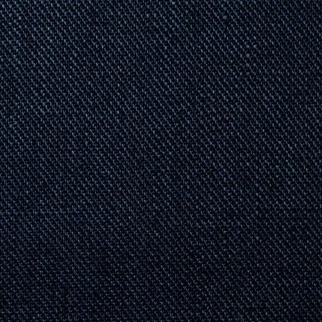 リネン×無地(ネイビー)×カツラギ イメージ1