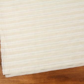 コットン&ポリエステル×ボーダー(キナリ)×ローン&オーガンジー_全2色 サムネイル2
