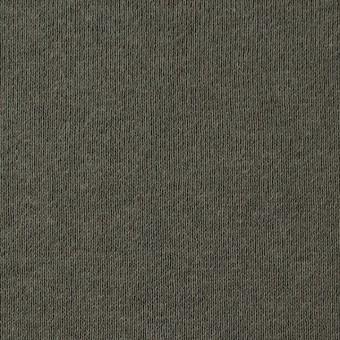 コットン×無地(カーキグリーン)×裏毛ニット サムネイル1
